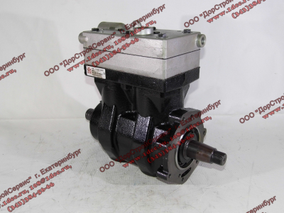 Компрессор пневмотормозов 2-х цилиндровый H2 HOWO (ХОВО) VG1560130080 фото 1 Орск