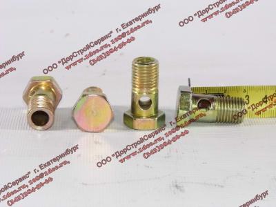 Болт пустотелый М14х1,5 (штуцер топливный) H HOWO (ХОВО) 90003962612 фото 1 Орск