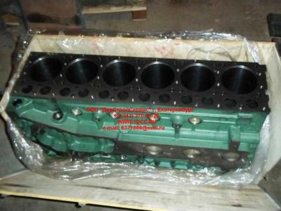 Блок цилиндров двигатель WD615.68 (336 л.с.) H2 HOWO (ХОВО) 61500010383 фото 1 Орск