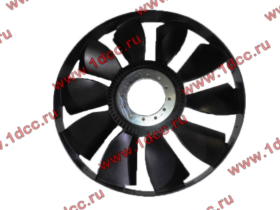 Вентилятор радиатора на гидромуфту d-590 H HOWO (ХОВО) VG1500060047 фото 1 Орск
