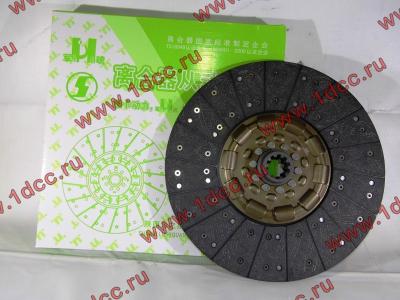 Диск сцепления ведомый 420 мм H2/H3 HOWO (ХОВО) WG1560161130 фото 1 Орск