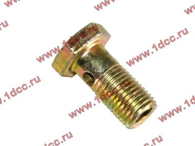 Болт пустотелый М12х1,25 (штуцер топливный) H HOWO (ХОВО) 90003962607 фото 1 Орск