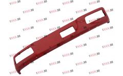 Бампер F красный металлический (до 2007г) для самосвалов фото Орск