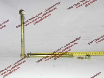 Болт центральный рессоры передней H2/H3 HOWO (ХОВО) 99100520710 фото 1 Орск