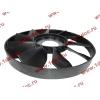 Вентилятор радиатора на гидромуфту d-590 H HOWO (ХОВО) VG1500060047 фото 3 Орск