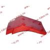 Брызговик передней оси правый H2 красный HOWO (ХОВО) WG1642230004 фото 3 Орск