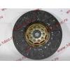 Диск сцепления ведомый 420 мм H2/H3 HOWO (ХОВО) WG1560161130 фото 4 Орск