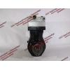 Компрессор пневмотормозов 2-х цилиндровый H2 HOWO (ХОВО) VG1560130080 фото 6 Орск